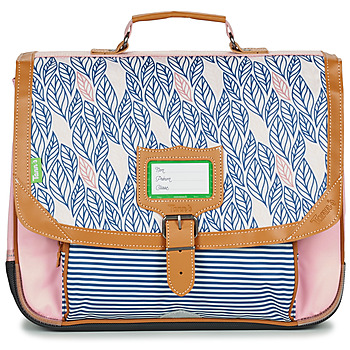 Bags Girl Satchels Tann's CREATION FLORE CARTABLE 38 CM Pink