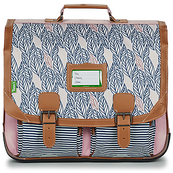Bags Girl Satchels Tann's CREATION FLORE CARTABLE 41 CM Pink