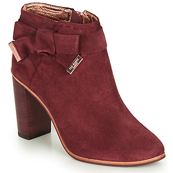Shoes Women Ankle boots Ted Baker ANAEDI Burgundy