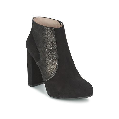 Shoes Women Ankle boots Unisa SAFIR Black