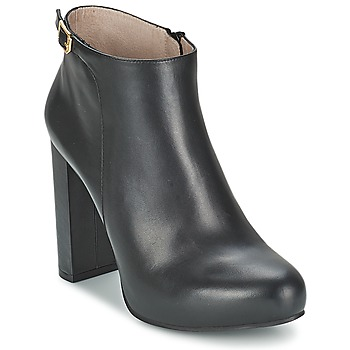 Shoes Women Ankle boots Unisa SALVA Black