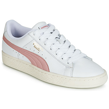 Shoes Low top trainers Puma BASKET CLASSIC LFS White / Beige