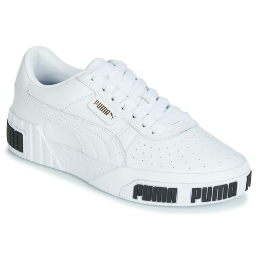 Shoes Women Low top trainers Puma CALI BOLD White