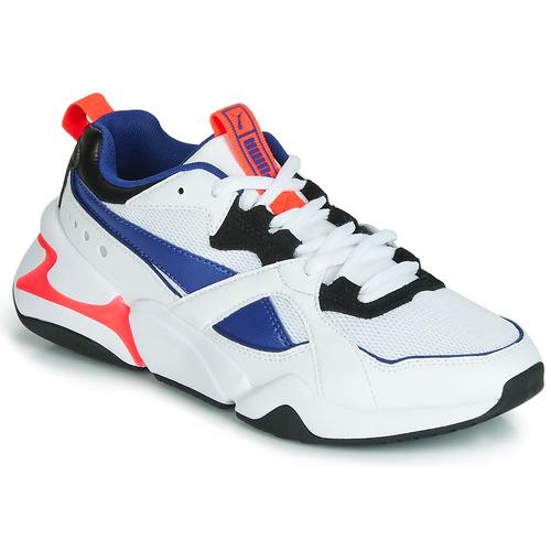 Shoes Women Low top trainers Puma NOVA 2 White / Blue