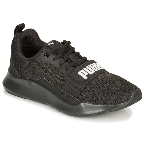 Shoes Low top trainers Puma PUMA WIRED.BLK Black