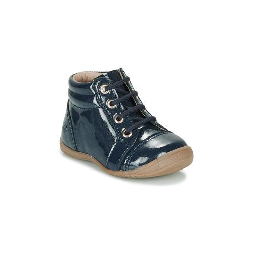 Shoes Girl Mid boots Citrouille et Compagnie NICOLE.C Marine / Glitter / Kezia