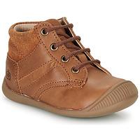 Shoes Boy Mid boots Citrouille et Compagnie RATON.C Vtc / Brown