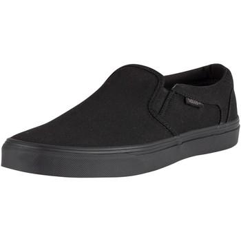 Shoes Men Slip-ons Vans Asher Canvas Trainers black
