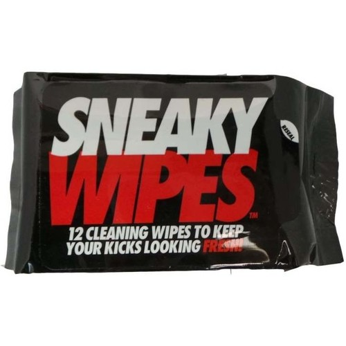Shoe accessories Shoepolish Sneaky. Wipes black
