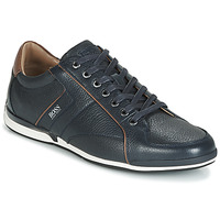 Shoes Men Low top trainers BOSS SATURN LOWP TBPF1 Marine
