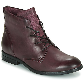 Shoes Women Mid boots Dream in Green  Bordeaux