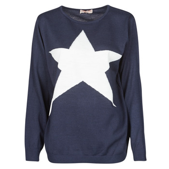 Clothing Women Jumpers Moony Mood LATOO Marine