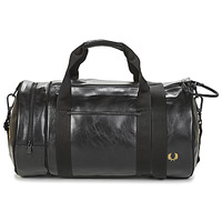 Bags Men Sports bags Fred Perry TONAL BARREL BAG Black