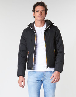 Clothing Men Duffel coats K-Way JACQUES THERMO PLUS Black