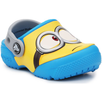 Shoes Children Clogs Crocs Crocsfunlab Minions Clog 204113-456 yellow, blue