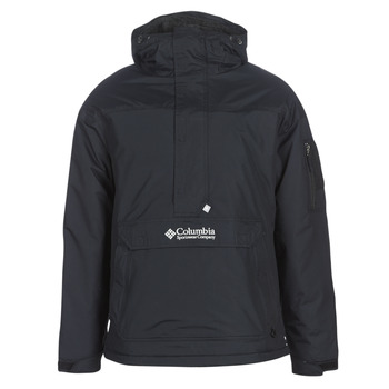 Clothing Men Jackets Columbia CHALLENGER PULLOVER Black