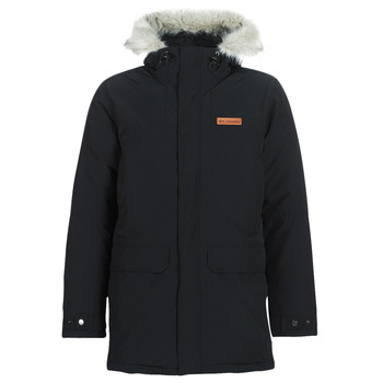 Clothing Men Parkas Columbia MARQUAM PEAK PARKA Black