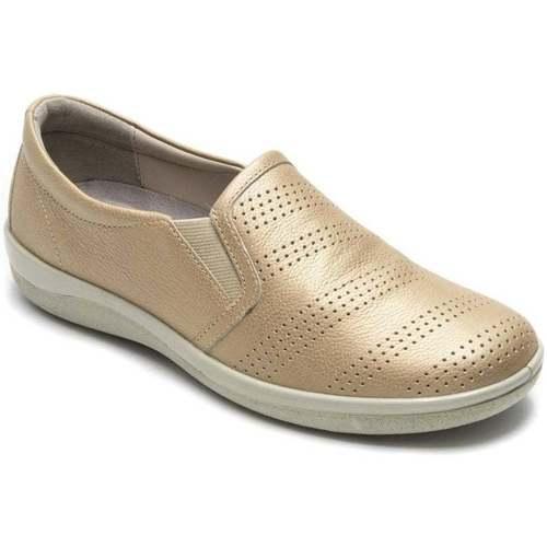 Shoes Women Slip-ons Padders Gigi Womens Casual Slip On Shoes gold