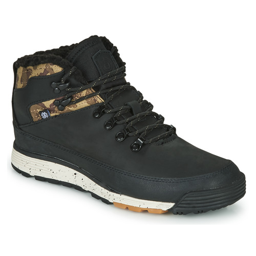 Shoes Men Mid boots Element DONNELLY Black / Camouflage