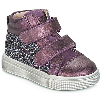 Shoes Girl Hi top trainers Acebo's 5299AV-LILA-C Purple