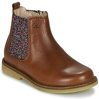Shoes Girl Mid boots Acebo's 5274-CUERO Brown