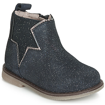 Shoes Girl Mid boots Acebo's MAKALU Blue