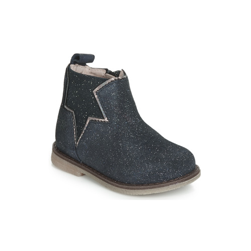 Shoes Girl Mid boots Acebo's MAKALU Blue