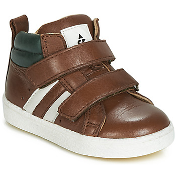 Shoes Boy Hi top trainers Acebo's 3040-CUERO-C Brown
