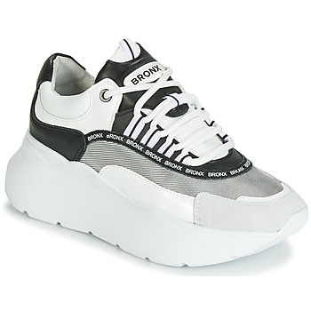 Shoes Women Low top trainers Bronx GRAYSON White / Black