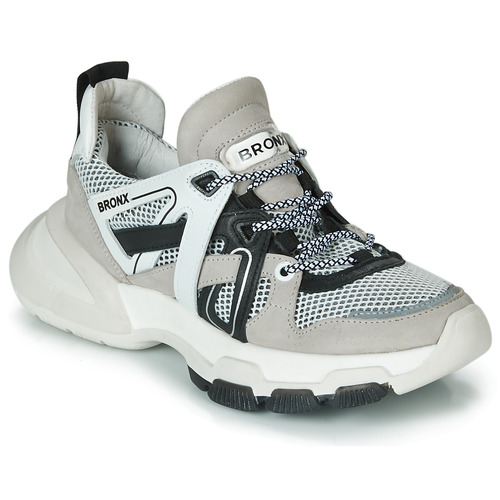 Shoes Women Low top trainers Bronx SEVENTY STREET Grey / White / Black