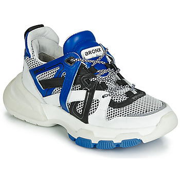 Shoes Women Low top trainers Bronx SEVENTY STREET White / Black / Blue
