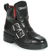 Shoes Women Mid boots Bronx GAMLETT Black