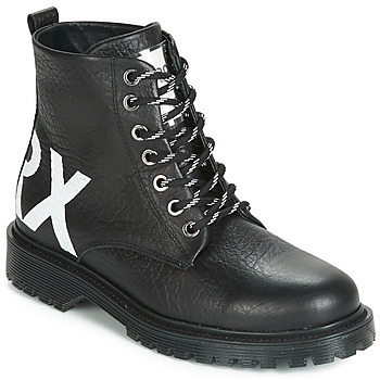 Shoes Women Mid boots Bronx RIFKA CHUNKY Black