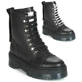 Shoes Women Mid boots Bronx RIFKA SUPER CHUNKY Black