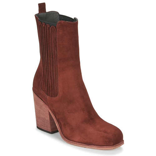 Shoes Women Ankle boots Fru.it CHELIN Bordeau