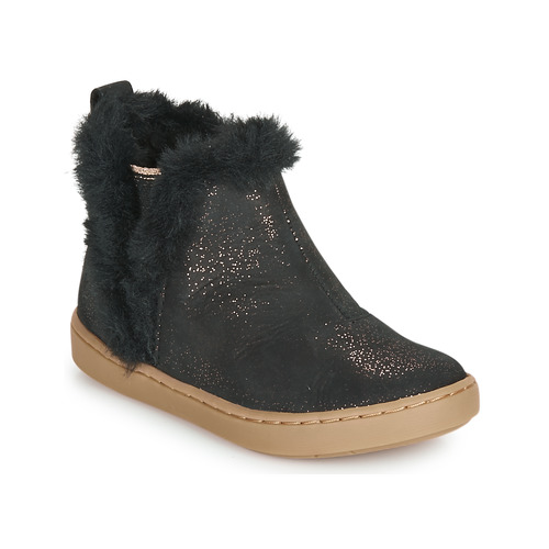 Shoes Girl Mid boots Shoo Pom PLAY YETI Black