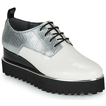 Shoes Women Derby Shoes United nude JUKO POP White / Silver