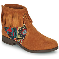 Shoes Women Mid boots Desigual OTTAWA TAPESTRY Brown