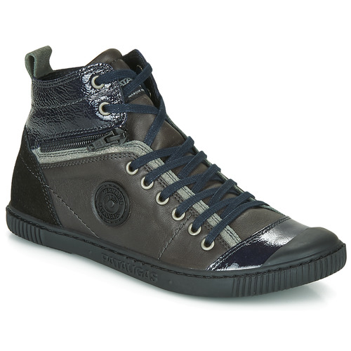 Shoes Women Hi top trainers Pataugas BANJOU Anthracite