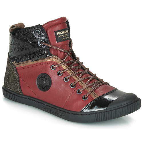Shoes Women Hi top trainers Pataugas BANJOU Bordeaux