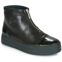 Shoes Women Mid boots Pataugas VALENTINA Black