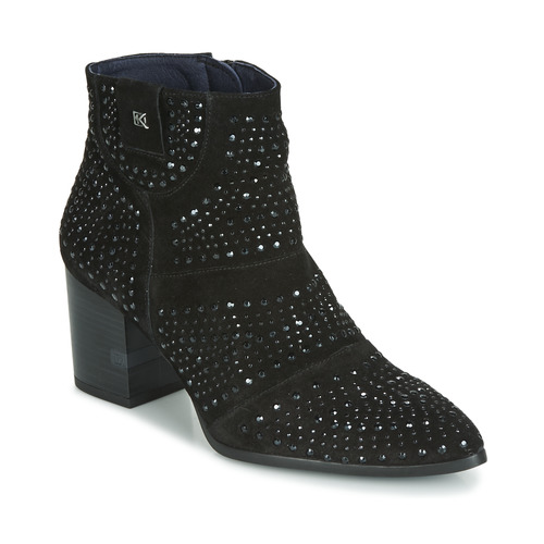 Shoes Women Ankle boots Dorking LESLY Black