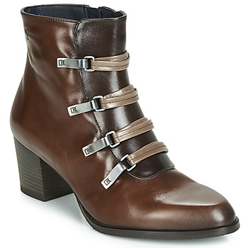Shoes Women Ankle boots Dorking ZUMA Camel
