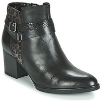 Shoes Women Ankle boots Gabor 3289367 Black / Leopard