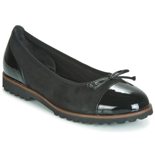Shoes Women Flat shoes Gabor 3410037 Black