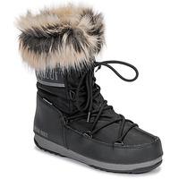 Shoes Women Snow boots Moon Boot MOON BOOT MONACO LOW WP 2 Black