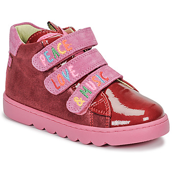 Shoes Girl Hi top trainers Agatha Ruiz de la Prada HOUSE Red / Pink