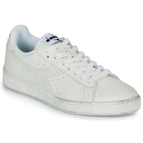 Shoes Low top trainers Diadora GAME L LOW WAXED White