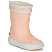Shoes Girl Wellington boots Aigle BABY FLAC Pink