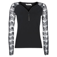 Clothing Women Tops / Blouses Kaporal XIVI Black
